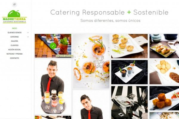 Food & Beverage website